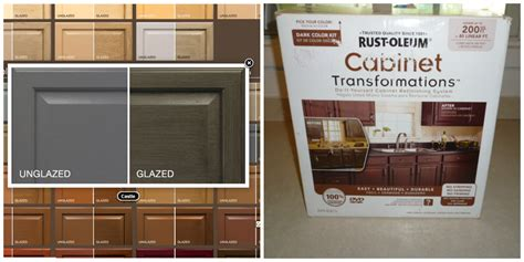 rust oleum cabinet transformations light base refinishing