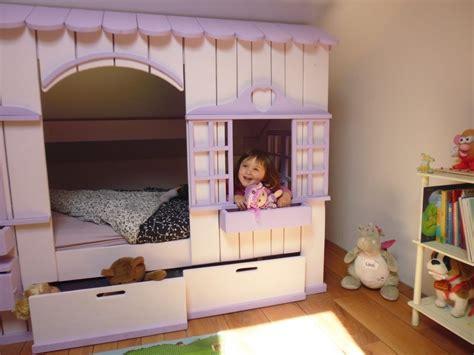 Ordinaire Des Chambre Pour Fille #2: lit-cabane-fille-1-1030x773.jpg