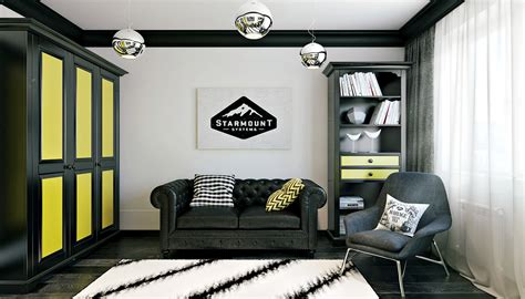 3 Modern Teen Room Designs Decorated With Creative Ideas And Black Boys Room