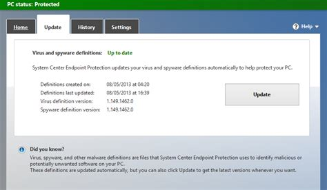 resetting windows defender get the latest definitions microsoft malware protection