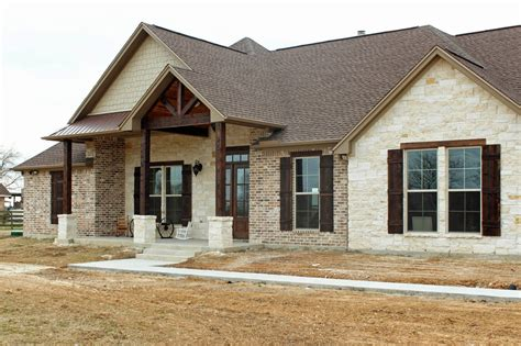 texas stone house plans harper custom homes a home with texas country flare