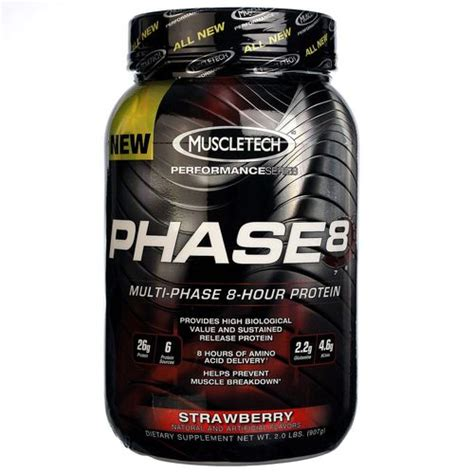 Whey Phase 8 muscletech phase 8 strawberry 2 lbs evitamins