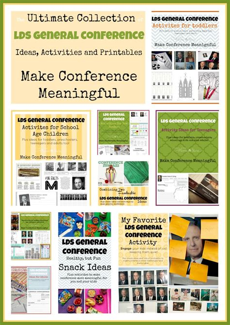 general themes list making general conference with kids meaningful your own