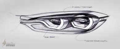bmw concept 4 series coupe design sketches 06