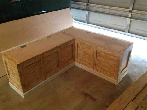 corner bench seating with storage home furniture design