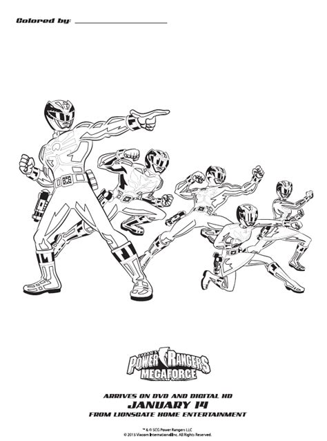 robo knight coloring page susan heim on parenting quot power rangers megaforce the