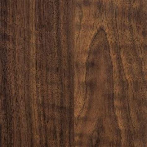 trafficmaster bay walnut laminate flooring 5 in