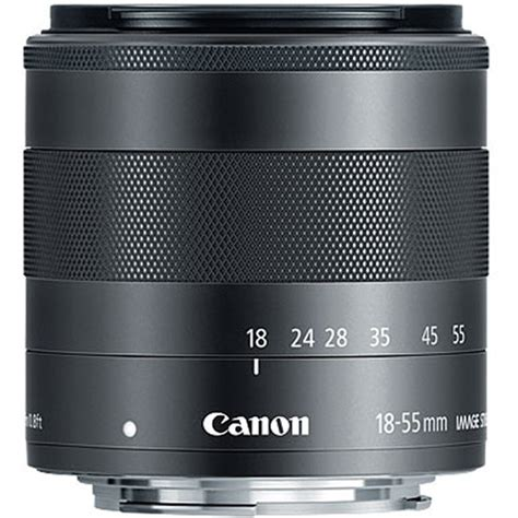 Tutup Lensa Canon 18 55mm canon ef m 18 55mm f 3 5 5 6 is stm lens 5984b002 b h photo