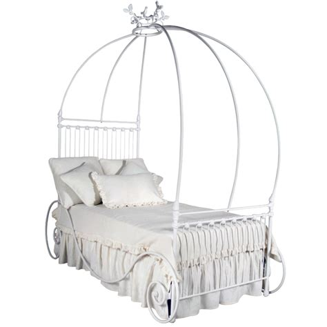 carriage twin bed carriage iron canopy twin bed by corsican iron furniture