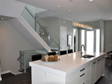 indoor glass railing interior glass railings deckview glass and railing