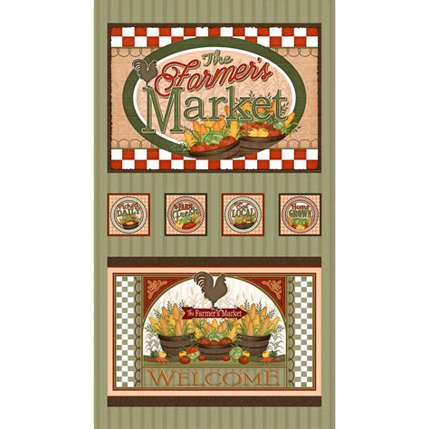 Quilting Treasures by Farmer S Market By Quilting Treasures