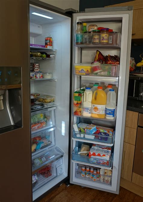 Showcase Freezer review samsung food showcase american fridge freezer