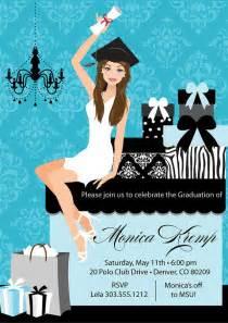 college graduation invitation diy high school grad