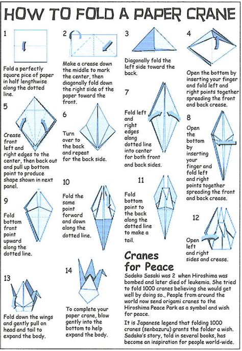 How To Make A Paper Swan Out Of Triangles - origami crane origami origami