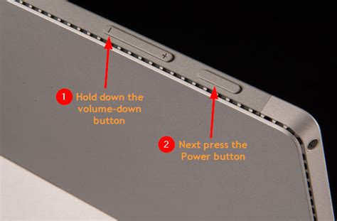 two button restart surface pro 3 resetting windows surface tablet how to factory reset
