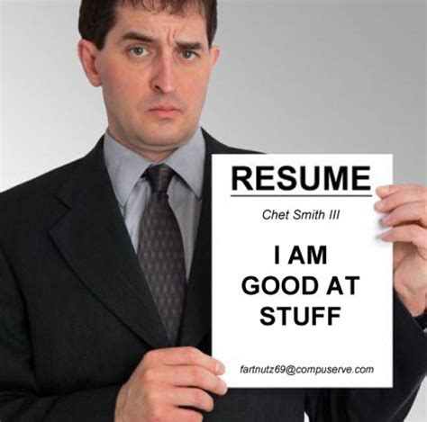 101 Great Tips For A Salesperson bad resume