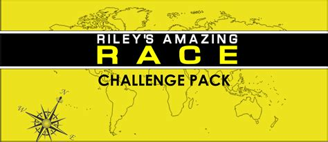 Amazing Race Clues Challenge Cards Editable Partygamesplus Amazing Race Editable Templates Free