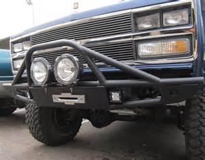 front winch bumper fits chevy gmc k5 blazer trucks 1973