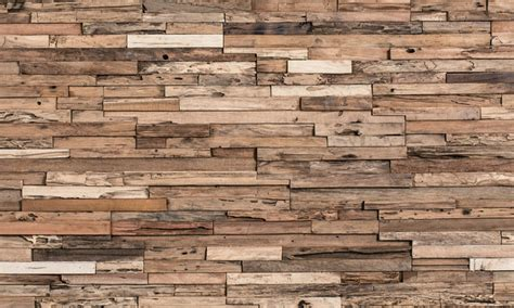 decorative wall ideas rustic wood wall covering panels