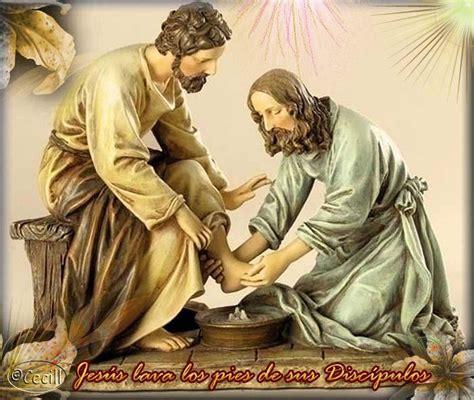 imagenes de jesus lavando los pies 174 colecci 243 n de gifs 174 im 193 genes del lavatorio de pies y la