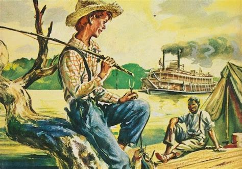 social themes in huckleberry finn mark twain s portrayal of family and relationships in