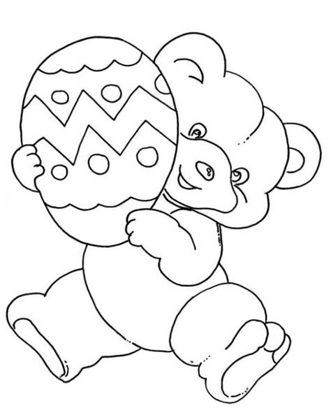 cute easter coloring pages coloring home