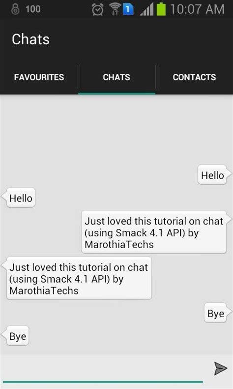 tutorial android studio chat building your own android chat messenger app similar to