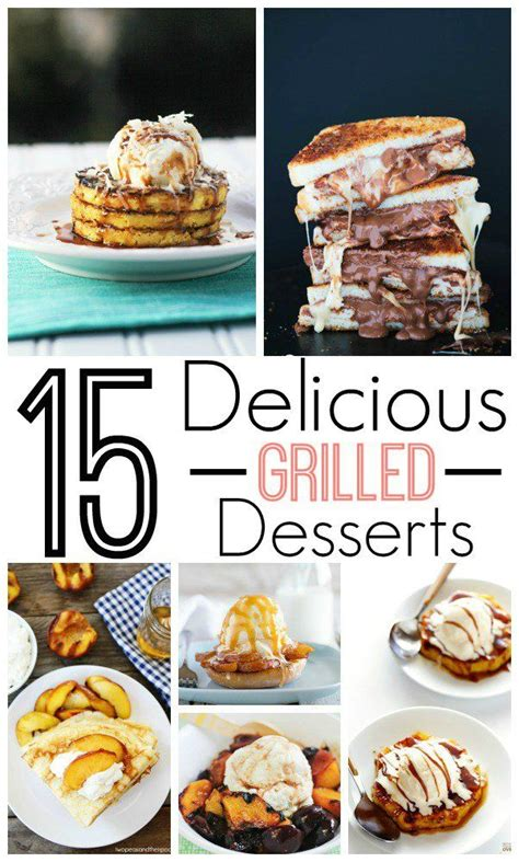easy grilled dessert how to 17 best images about desserts on the grill on skillet brownie berry sauce and