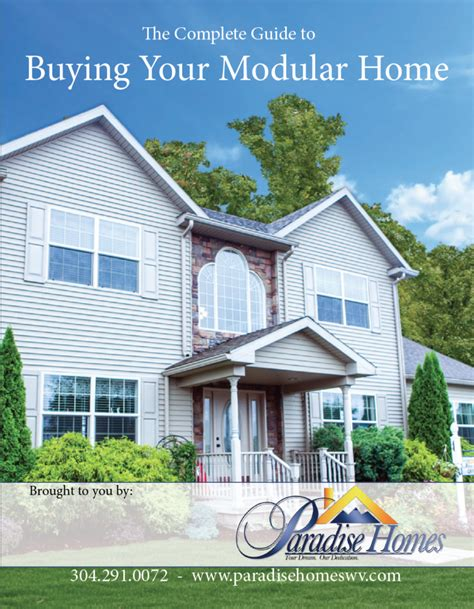 buying a modular home the complete guide to buying your modular home paradise