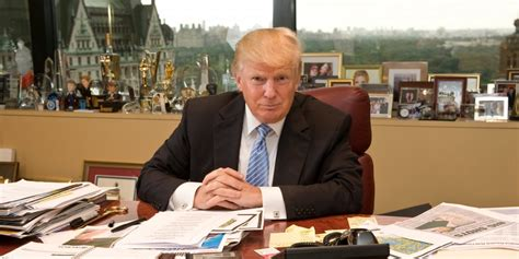 donald trump office items in donald trump s office business insider