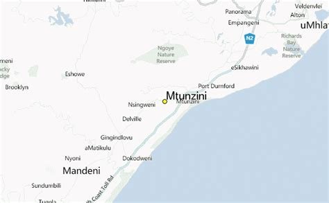mtunzini weather station record historical weather for