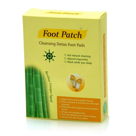 Detox Foot Rejuvination Patches by Detox Foot Patch Imc Shri Tulsi Herbal Ayurvedic
