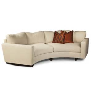 Ekornes Loveseat Clip Curved Sofa By Thayer Coggin Thayer Coggin Fabric