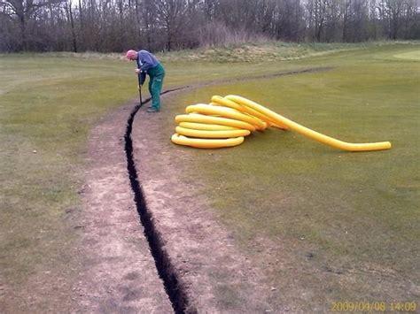 Drainage Legen Kosten by Garten Drainage Hangscer Club