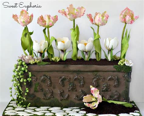 Flower Garden Cake Monacakedesign Pinterest 130 Best Amazing Cakes Images On Pinterest Amazing Cakes Cake And Sculpted Cakes