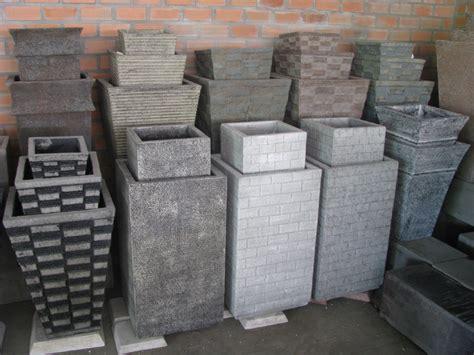 Cheap Concrete Planters by Black Concrete Planters Www Pixshark Images