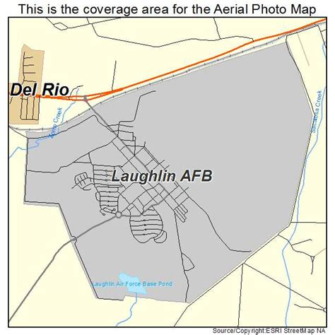 afb in texas map aerial photography map of laughlin afb tx texas