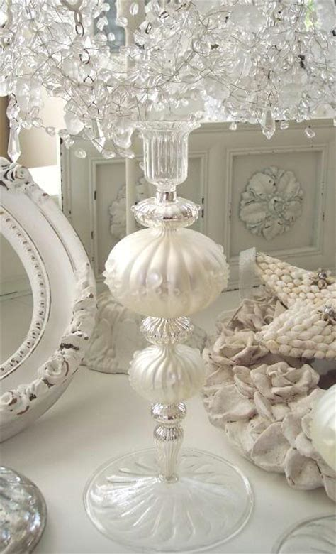 shabby chic style home decorating vintage finds rhinestone