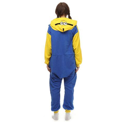 Kt Pj Top So49 Detail Di Pic minions kigurumi costume unisex fleece pajamas onesie cosplaymade ca