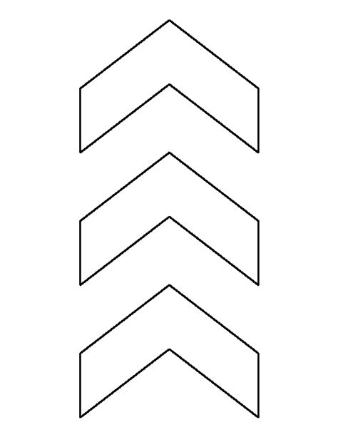 Chevron Template by Chevron Pattern Use The Printable Outline For Crafts