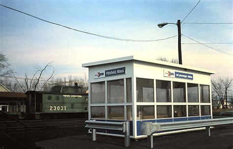 amtrak shelter pittsfield ma december 1975