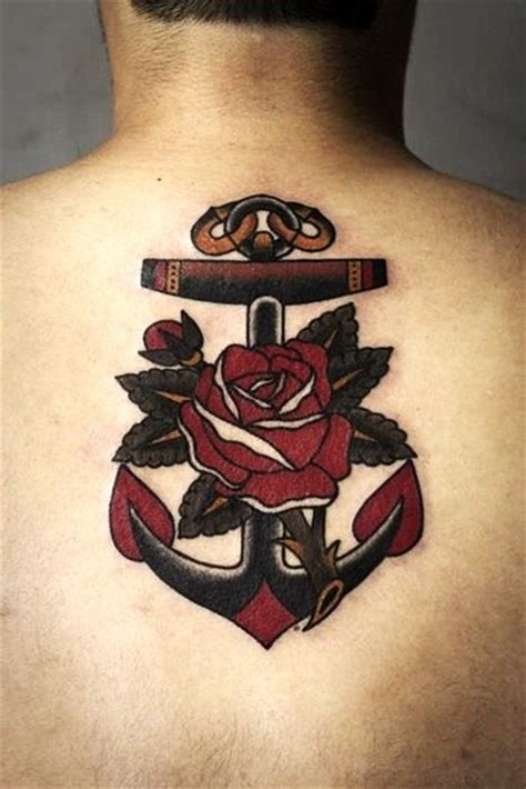 50 best anchor rose tattoos collection 50 best anchor rose tattoos collection