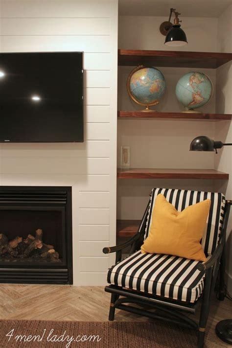 built in shelves fireplaces and shelves on pinterest