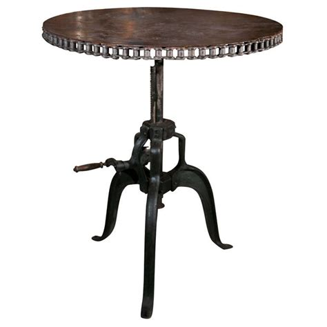Vintage Bar Table Vintage Industrial Bar Table At 1stdibs