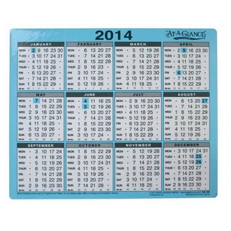 at a glance desk calendar at a glance 1 year 2010 desk calendar 930 at93014