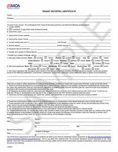 Certification Letter For Tenant landlord forms real estate forms amp rental applications