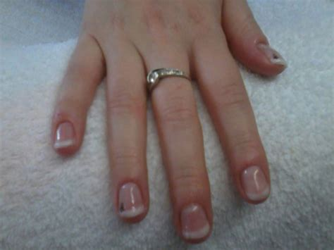 Pose Gel Sur Ongle Naturel by Pose Sur Amandine Sur Ongle Naturel Gel Stikers
