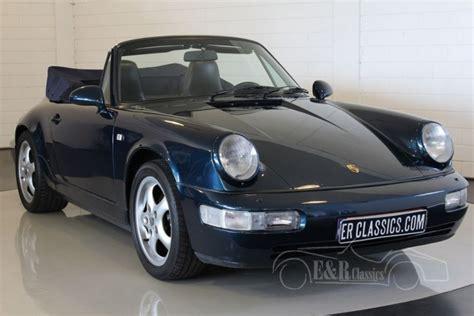 Porsche 911 Oldtimer by Porsche 964 2 Cabriolet 1991 Zum Kauf Bei Erclassics