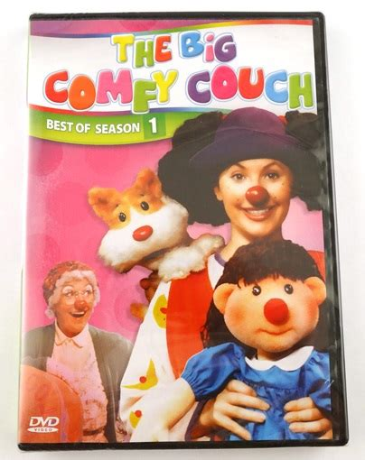 the big comfy couch season 1 the big comfy couch the best of season 1 dvd 6 episodes ebay