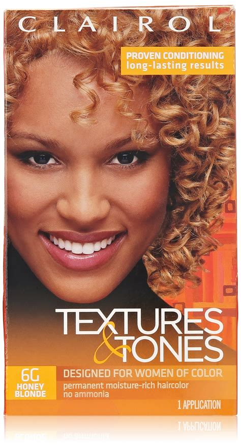 texture and tones color chart amazon com clairol text tone kit 6g honey blonde 2